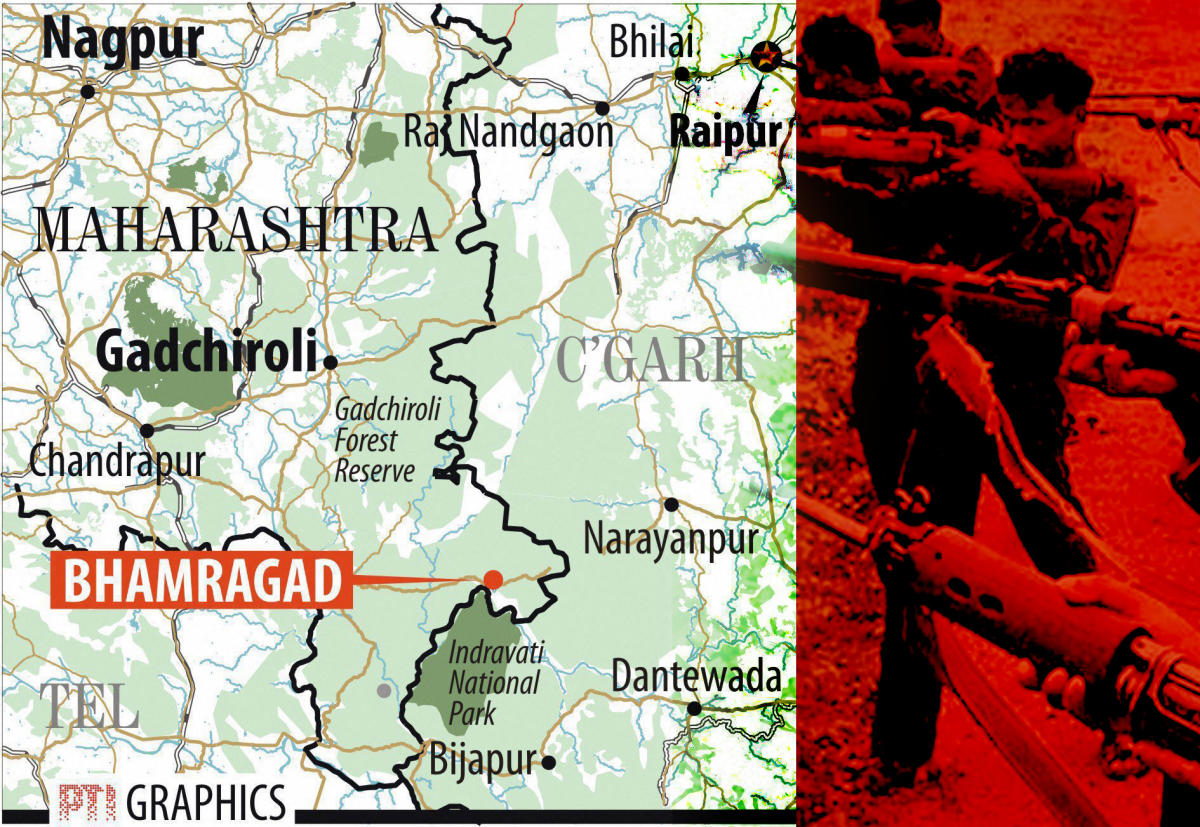 As many as 39 Maoists were killed in twin encounters in the Gadchiroli district of Maharashtra on April 22-23.
