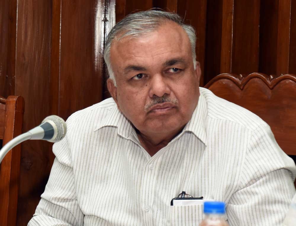 Ramalinga Reddy told reporters that the phones of over 100 Congress leaders were being tapped for the past 15 days to know the party's election strategy.