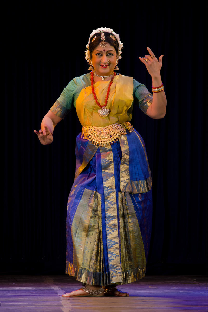 Padma SubrahmanyamA platinum dancer