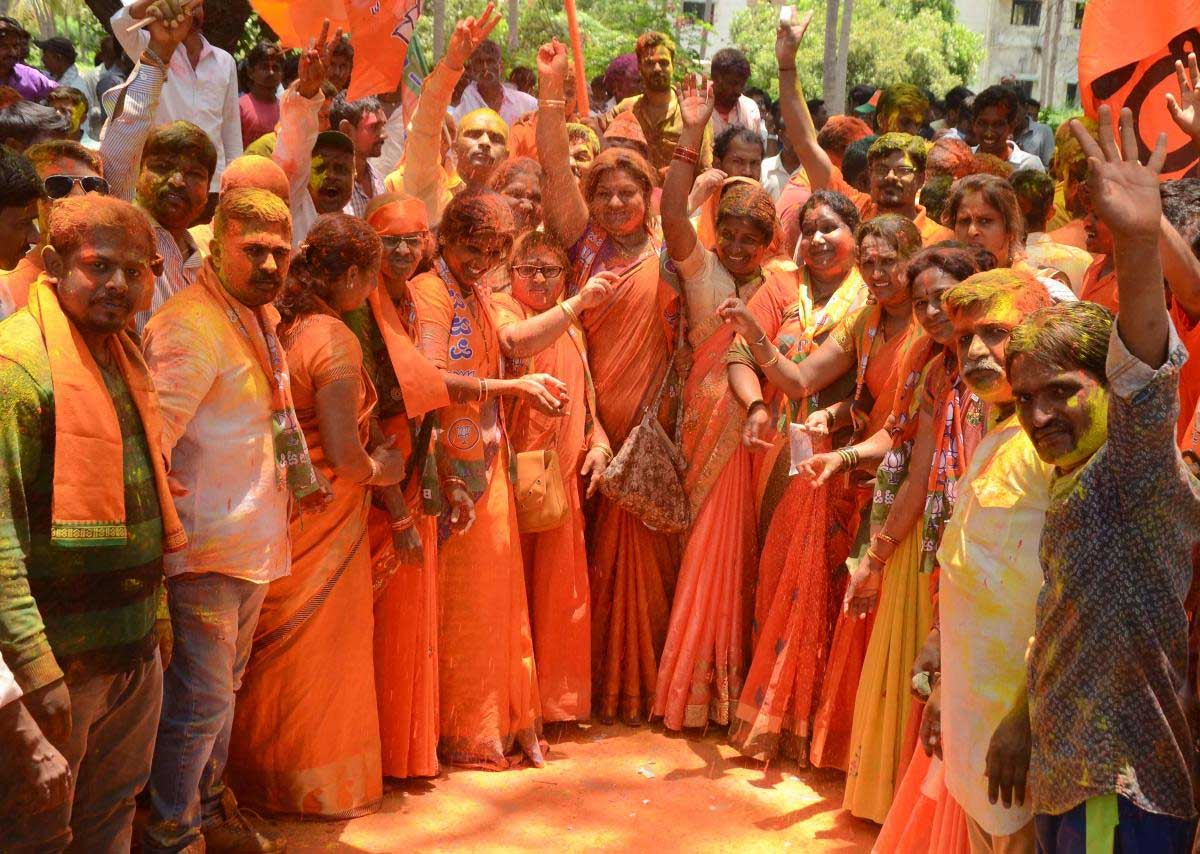 It may have been so near yet so far for the BJP but its much-improved performance in the 2018 Assembly polls compared to 2013 across all regions can be attributed to its micromanagement election strategy. DH file photo