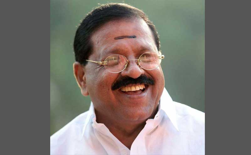 In picture: Congress leader Rajmohan Unnithan. Photo via Facebook.