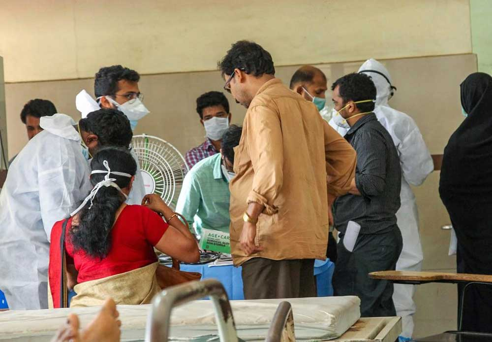 The reports of the other 20-year-old female patient from Kasargod is still awaited. PTI file photo
