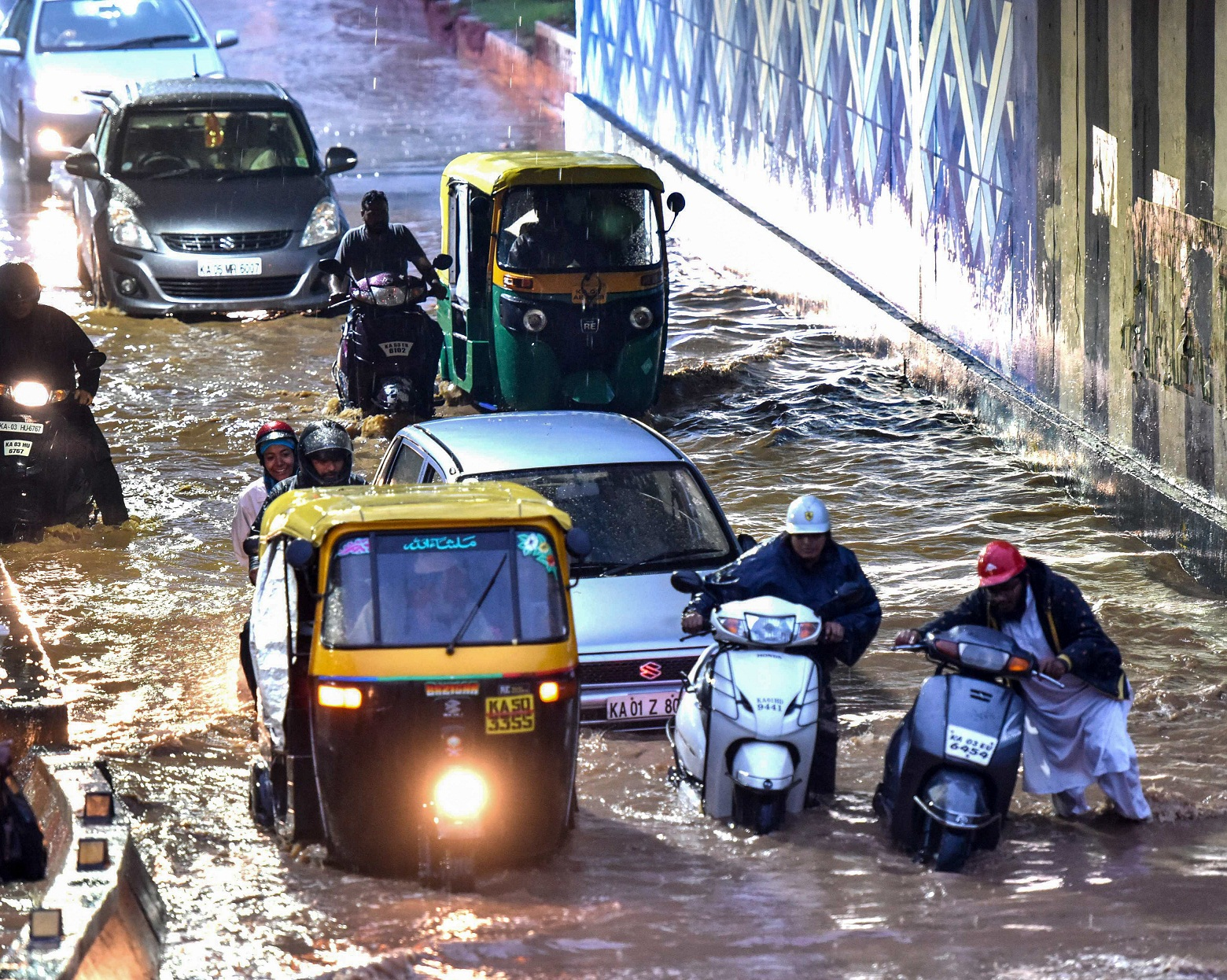 Many auto drivers make a killing when it rains, but they have their share of woes, too.