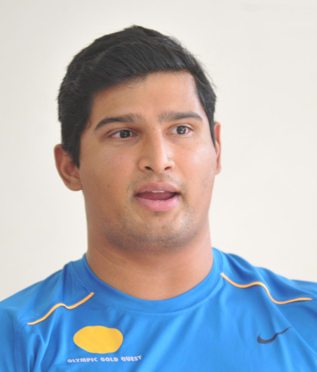 Vikas Gowda was a satisfied man after he decided to call time on his career. DH PHOTO/SRIKANTA SHARMA R