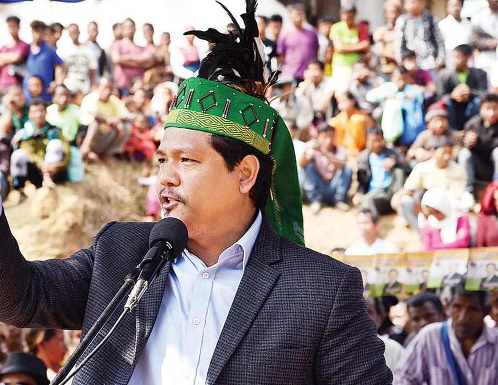 Meghalaya Chief Minister Conrad K Sangma. File photo