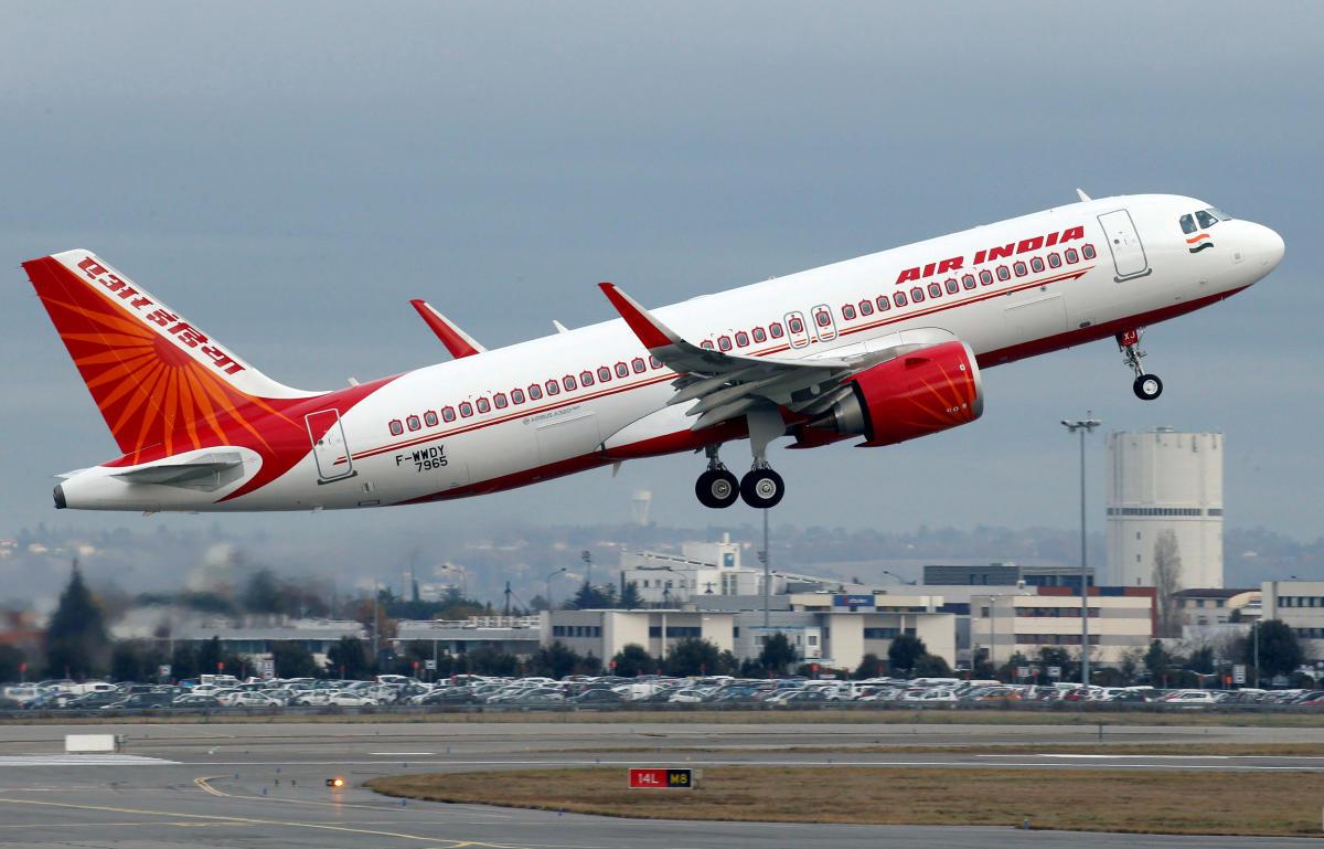 An Air India Airbus A320neo plane. Reuters file photo.