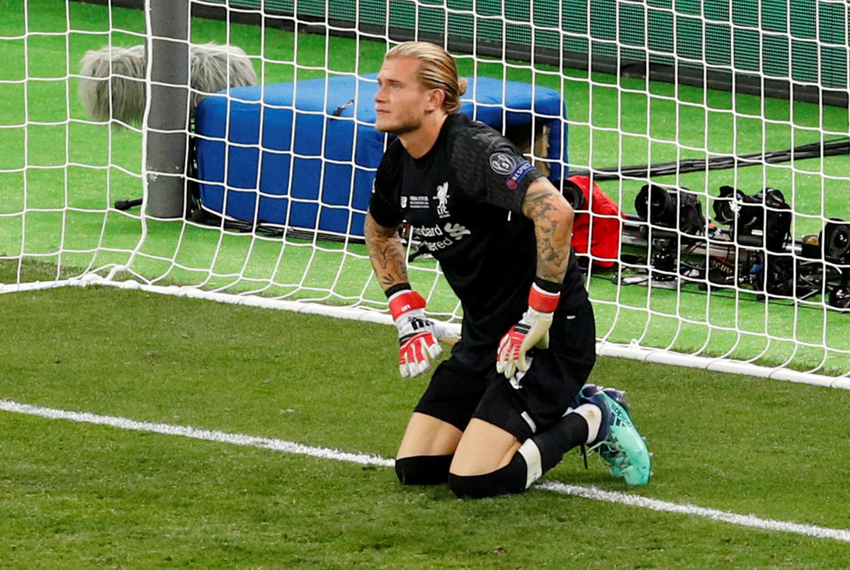 Liverpool's Loris Karius suffered a concussion shortly before his blunders gifted Real Madrid the Champions League title. Reuters