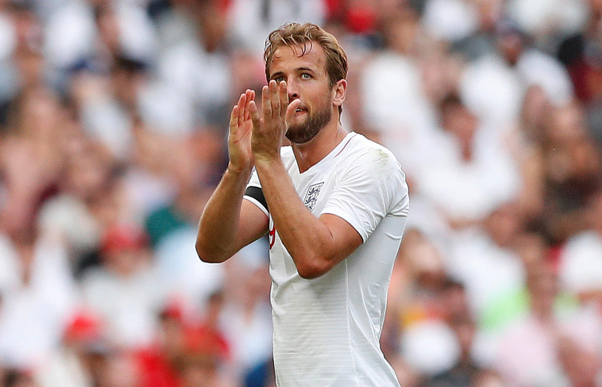 BIG JOB England players have decided to share the work load with skipper Harry Kane. Reuters
