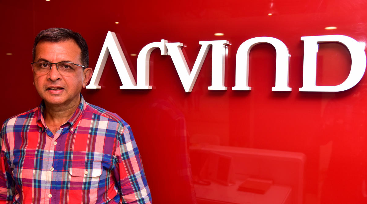 Suresh J , MD and CEO, Arvind Lifestyle Brands Limited, at his Office in Bengaluru. DH Photo: B H Shivakumar