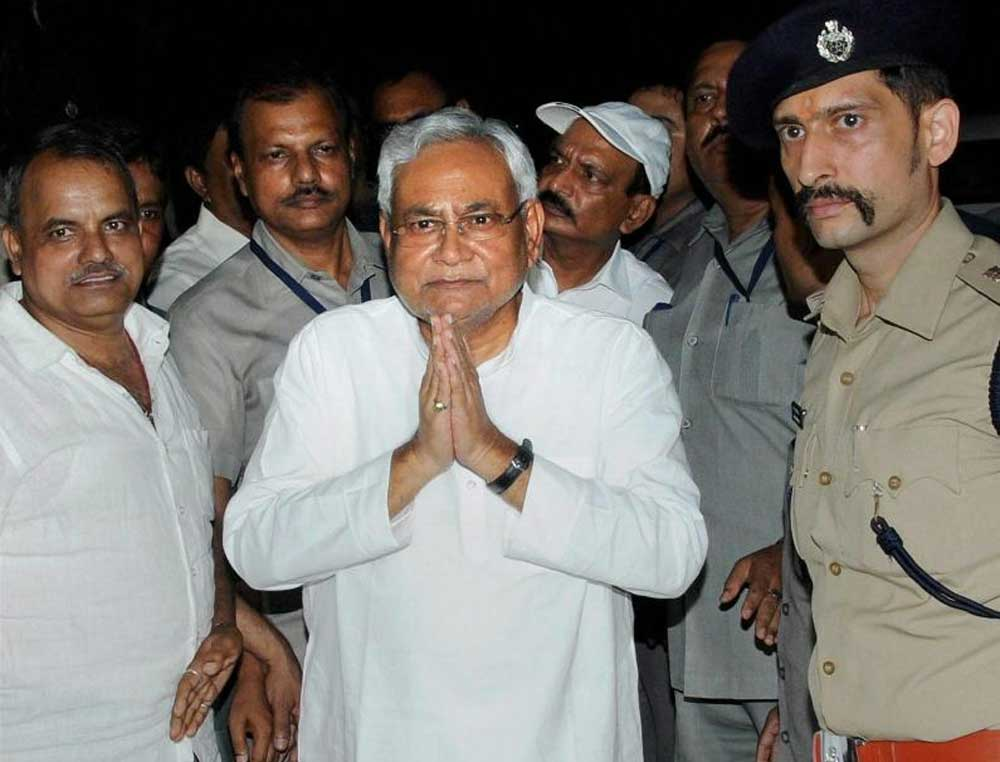 Nitish Kumar had enforced total prohibition in Bihar in 2016. PTI file photo.