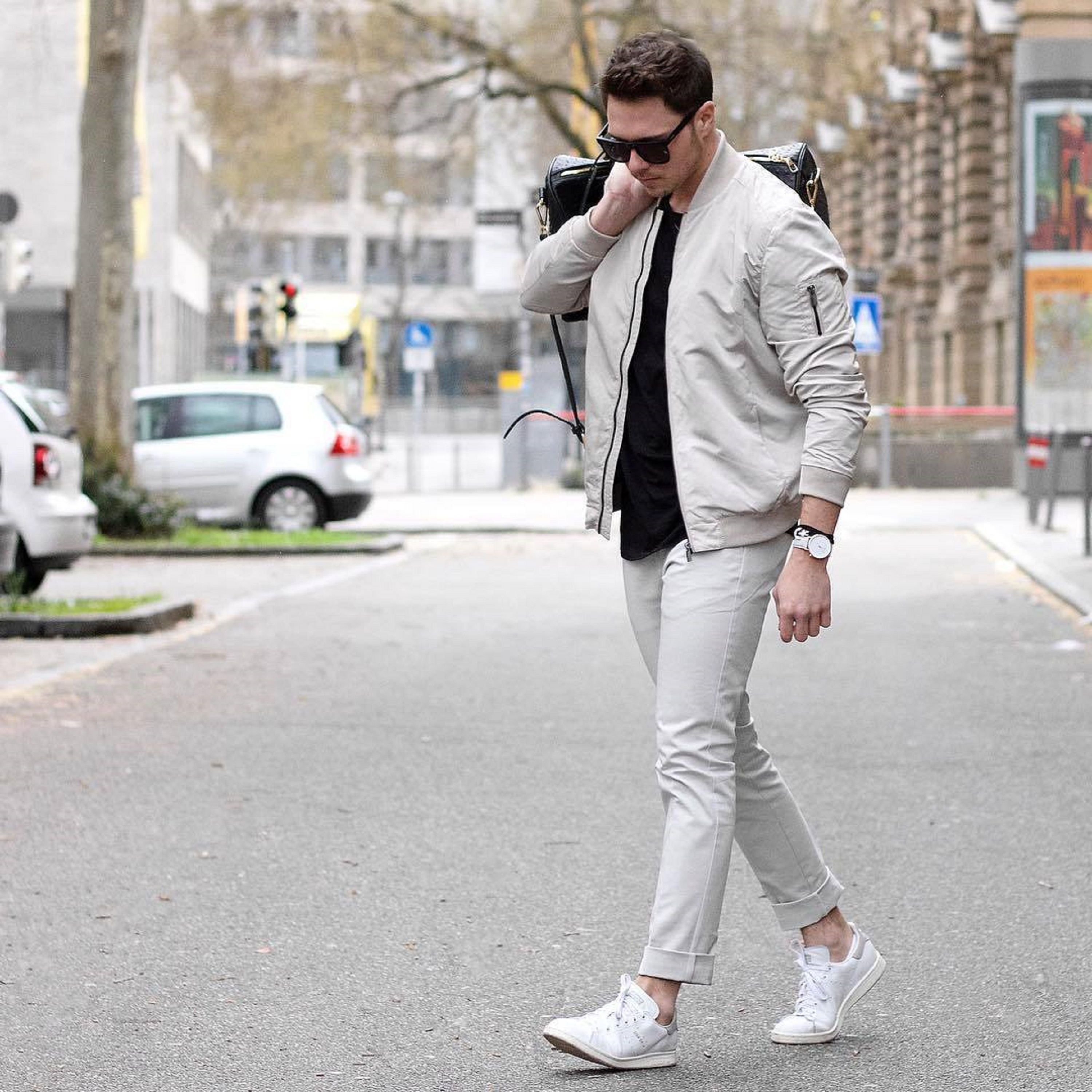 7 snazzy ways to style white sneakers