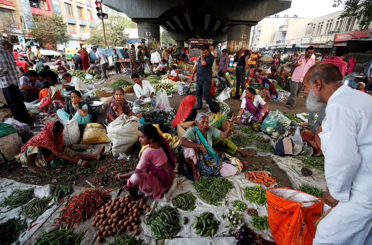 Inflation in vegetables climbed to 2.51 per cent in May, while in the previous month it was (-)0.89 per cent. (Reuters file photo)