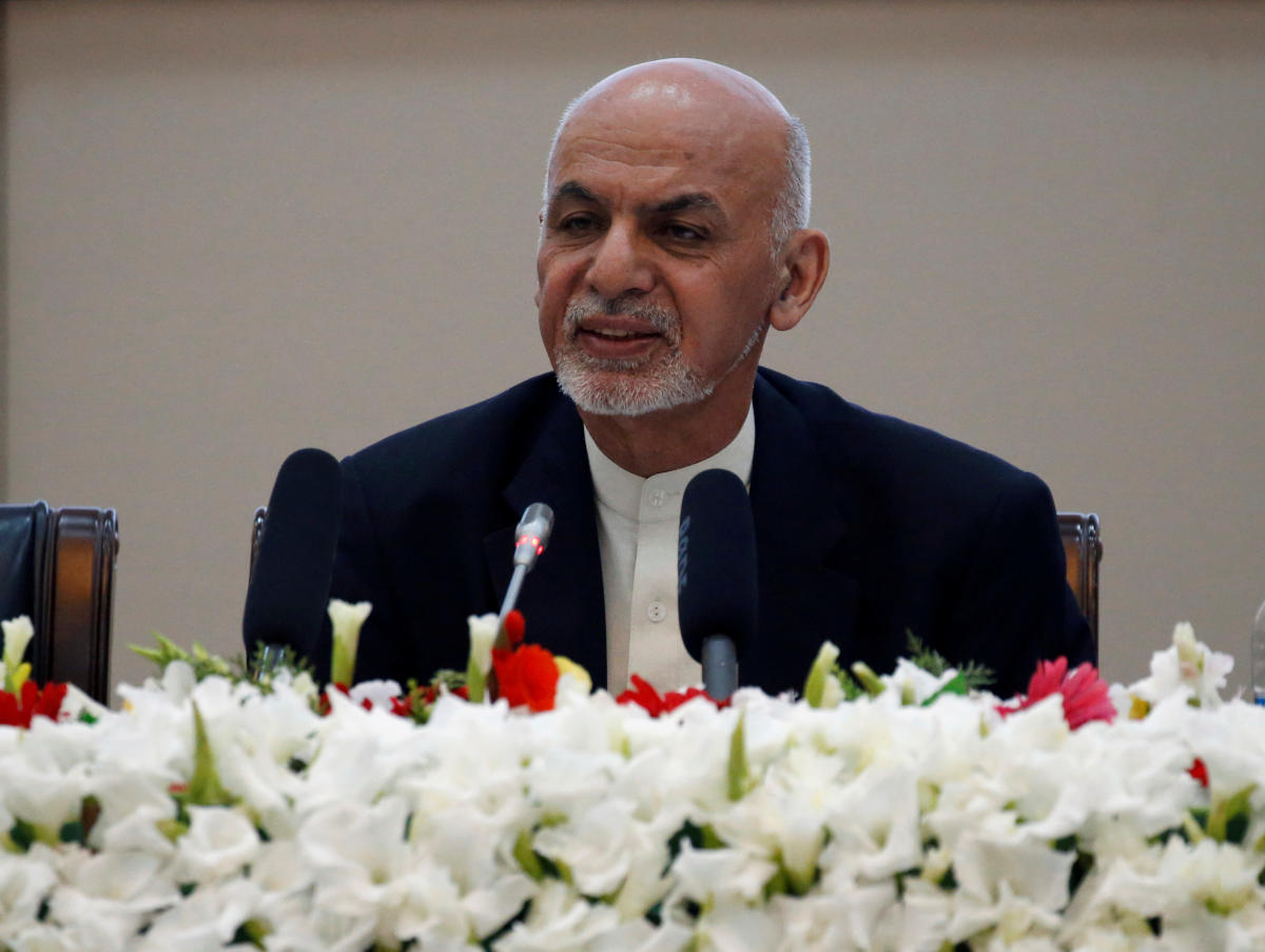 Afghan President Ashraf Ghani. Reuters photo.