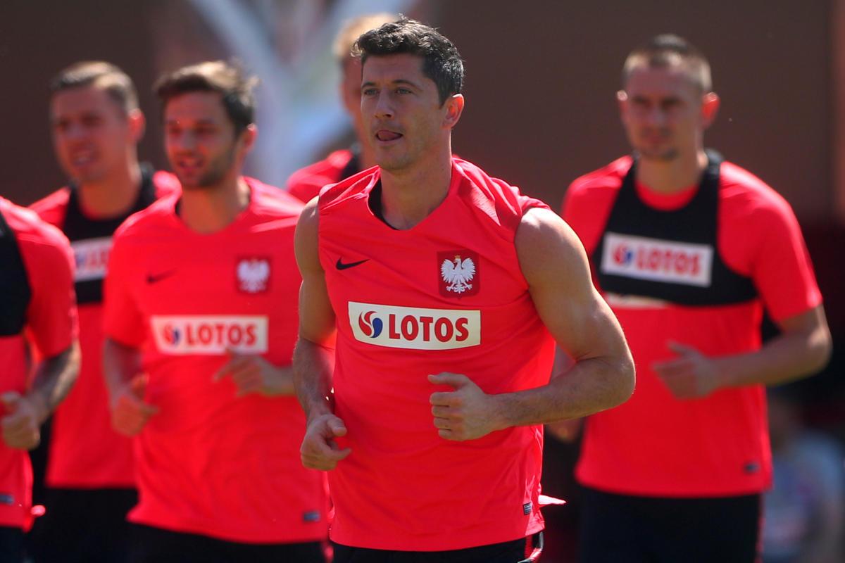 Robert Lewandowski will spearhead Poland's attack. REUTERS
