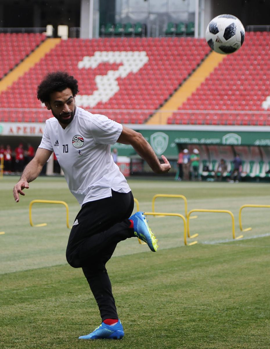 TESTING TIMES Mohamed Salah, who has been declared 100 percent fit, will have to fire on all cylinders if Egypt wish to keep their World Cup hopes alive. AFP