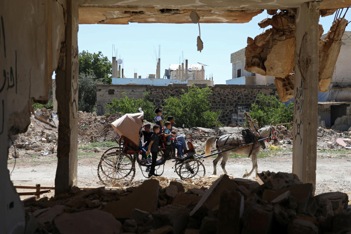 Both Syrian authorities and Iraqi forces pointed the finger at the US-led coalition, which denied it was involved in Sunday night's attack. (Reuters file photo)