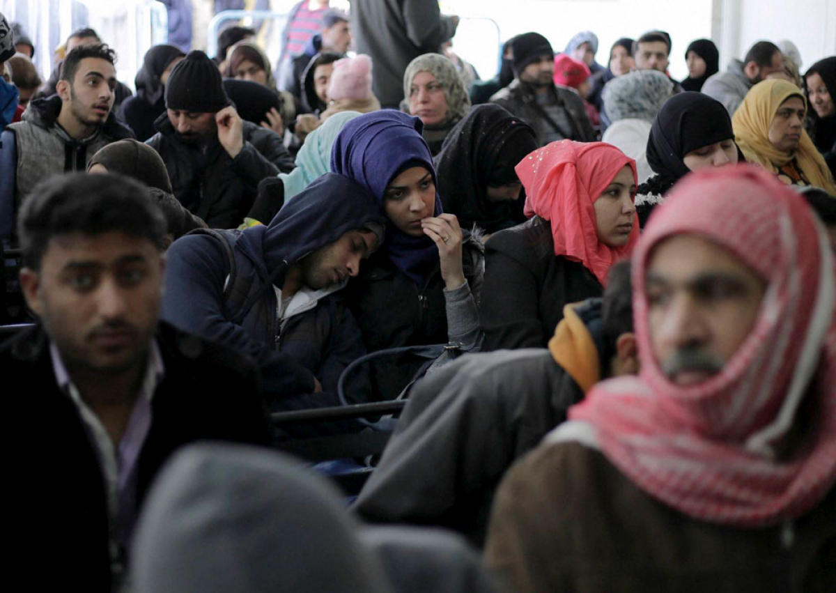 Syria's seven-year conflict alone had, by the end of last year, pushed more than 6.3 million people out of the country, accounting for nearly one-third of the global refugee population. AP/PTI file photo