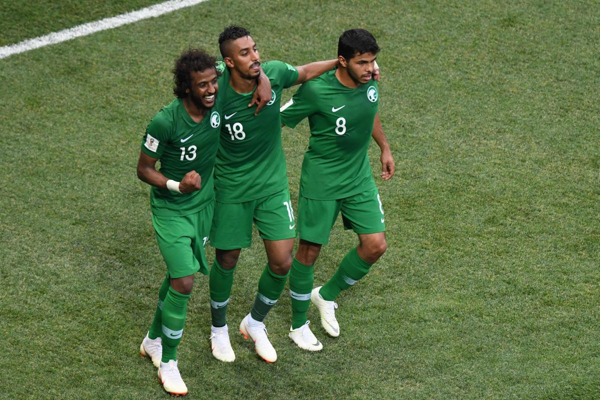 STRONG-WILLED MEN After being ripped apart by Russia in their group opener, Saudi Arabia bounced back well before signing off with a fine win over Egypt. AFP