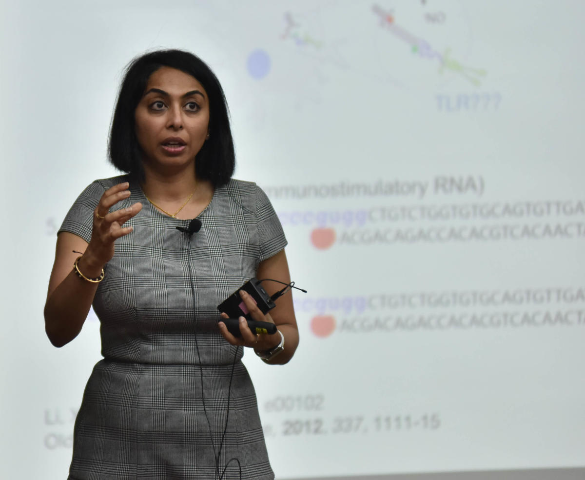 Professor Yamuna Krishnan. DH photo/ Janardhan B K