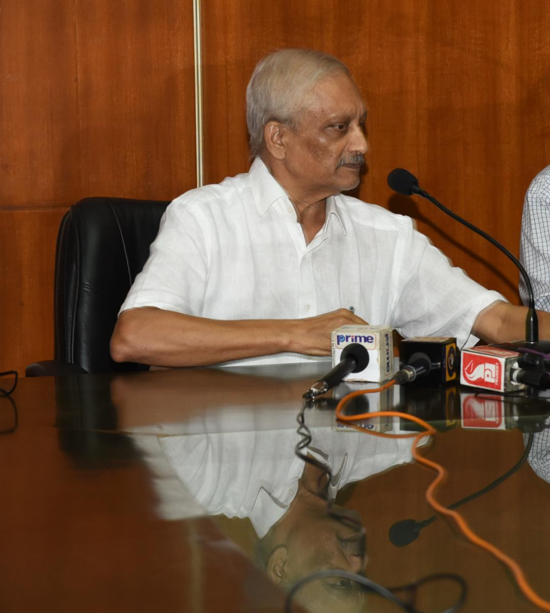 The news put out in Goa was that the workaholic chief minister would put in less than his punishing earlier ultra-long hours.
