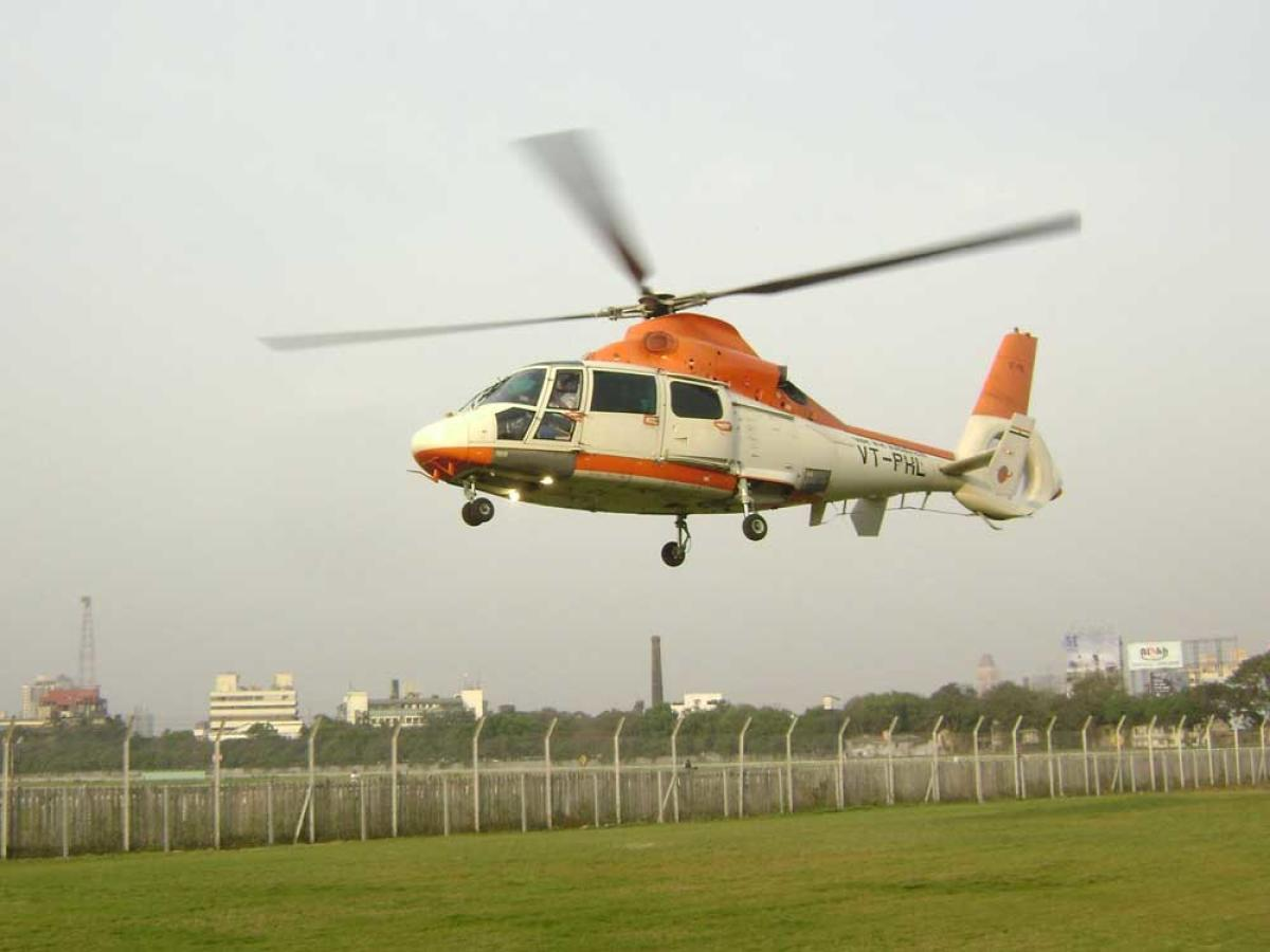 Pawan Hans is a joint venture between the government and ONGC. File photo. Source: Twitter