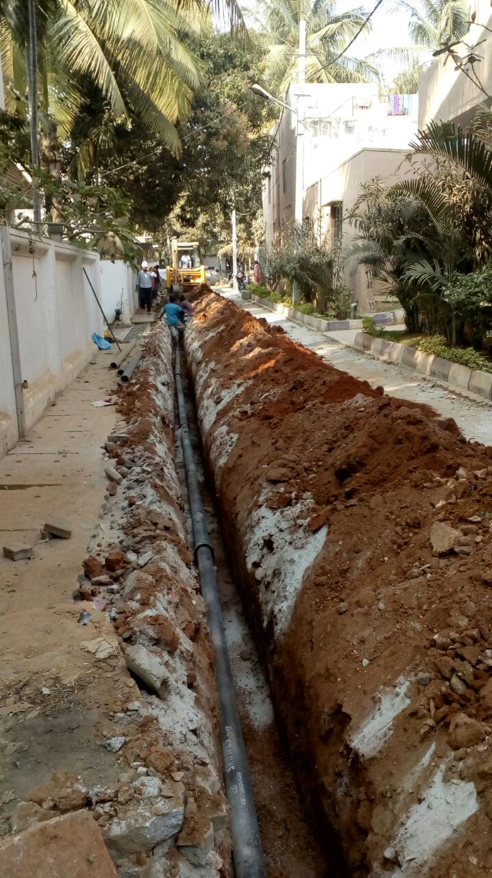Via Razor Fence Wire And Electric Installation Kampala O Olxco Water Pipeline Being Laid One