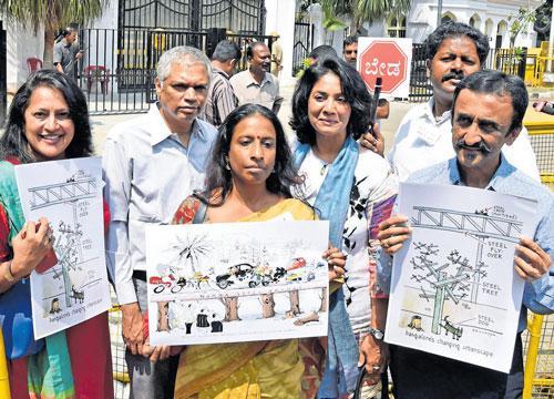Representatives of Citizens for Bengaluru (CfB). DH file photo.