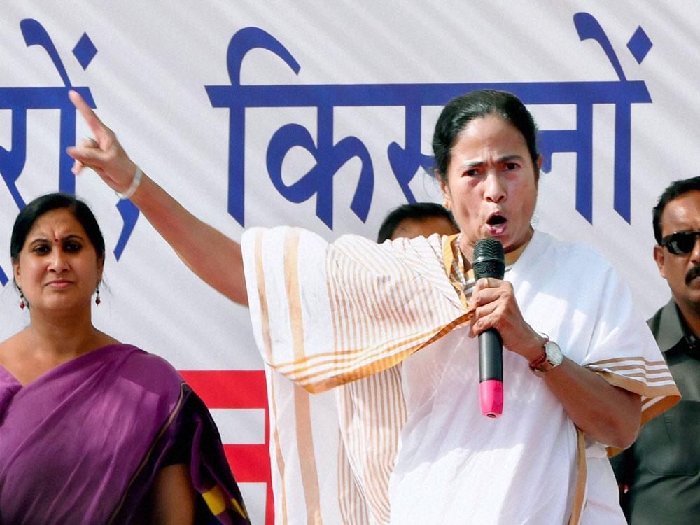 Trinamool Congress chief and West Bengal Chief Minister Mamata Banerjee. (PTI File Photo)