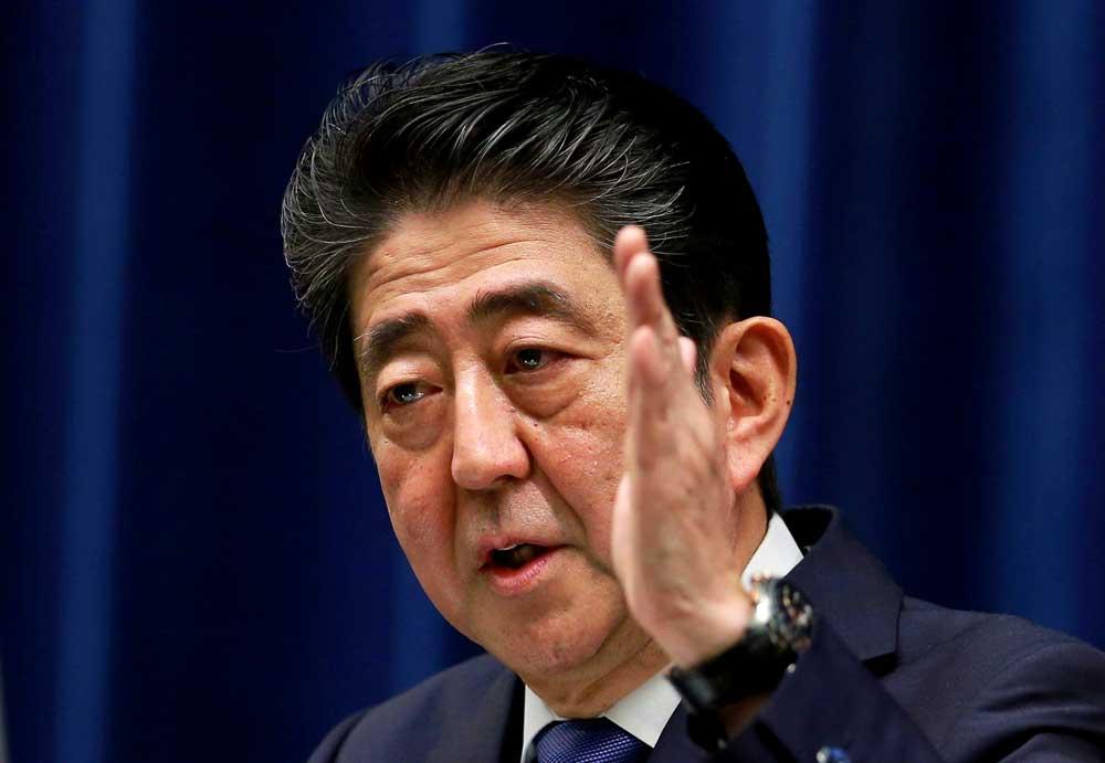 Prime Minister Shinzo Abe. AP/PTI file photo.