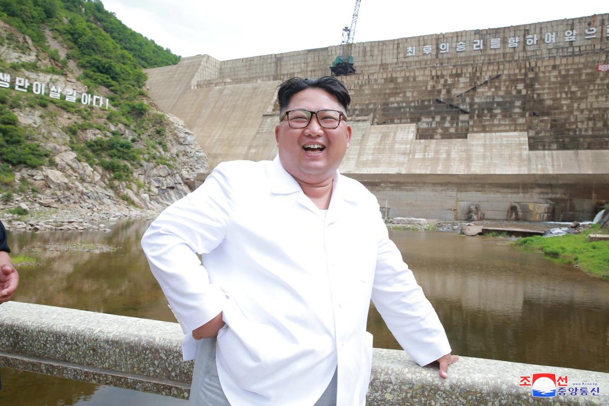 North Korean leader Kim Jong Un. KCNA via REUTERS. File photo.