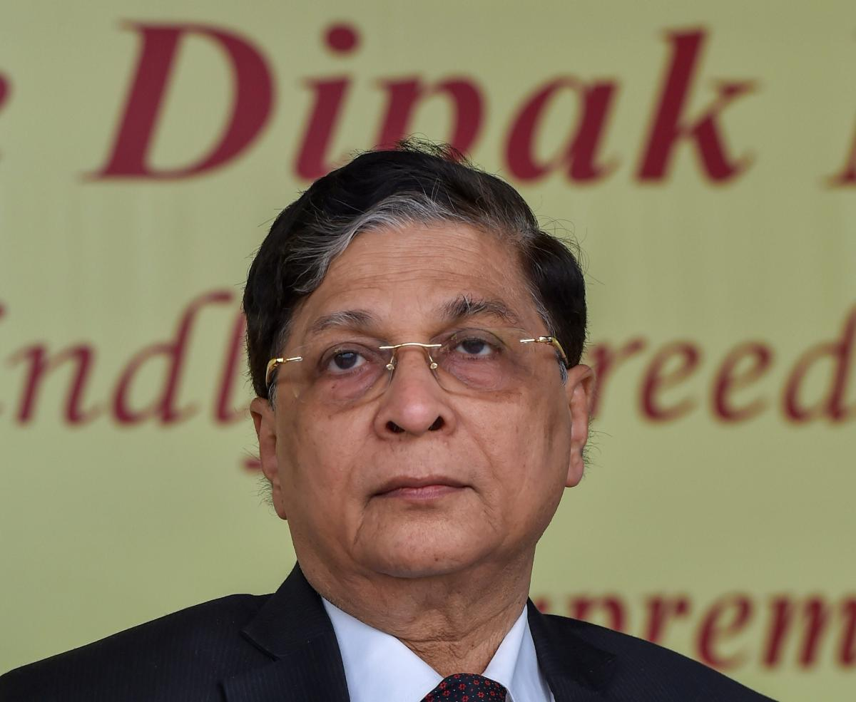 Chief Justice of India Dipak Misra on Saturday asked budding lawyers and judges not to get swayed away by infighting and distractions that come their way and suggested them to deal with such situations courageously. PTI file photo