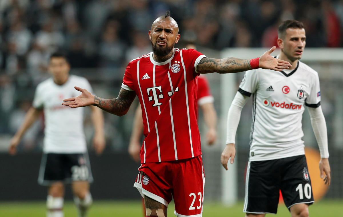 Arturo Vidal (REUTERS File Photo)