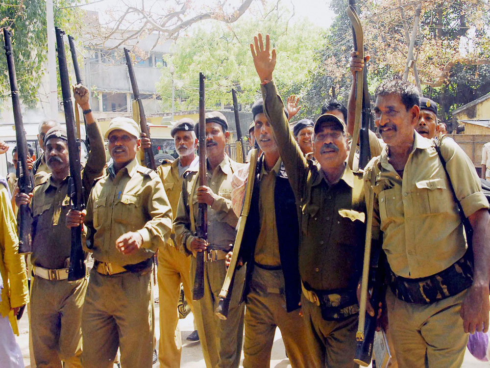 As many as 17 security guard agencies have committed to training over 3 lakh security persons under a government scheme, the ministry of skill development and entrepreneurship (MSDE) said. PTI file photo for representation only