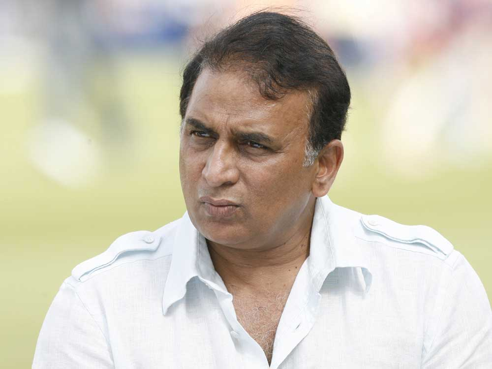 Sunil Gavaskar. DH file photo.