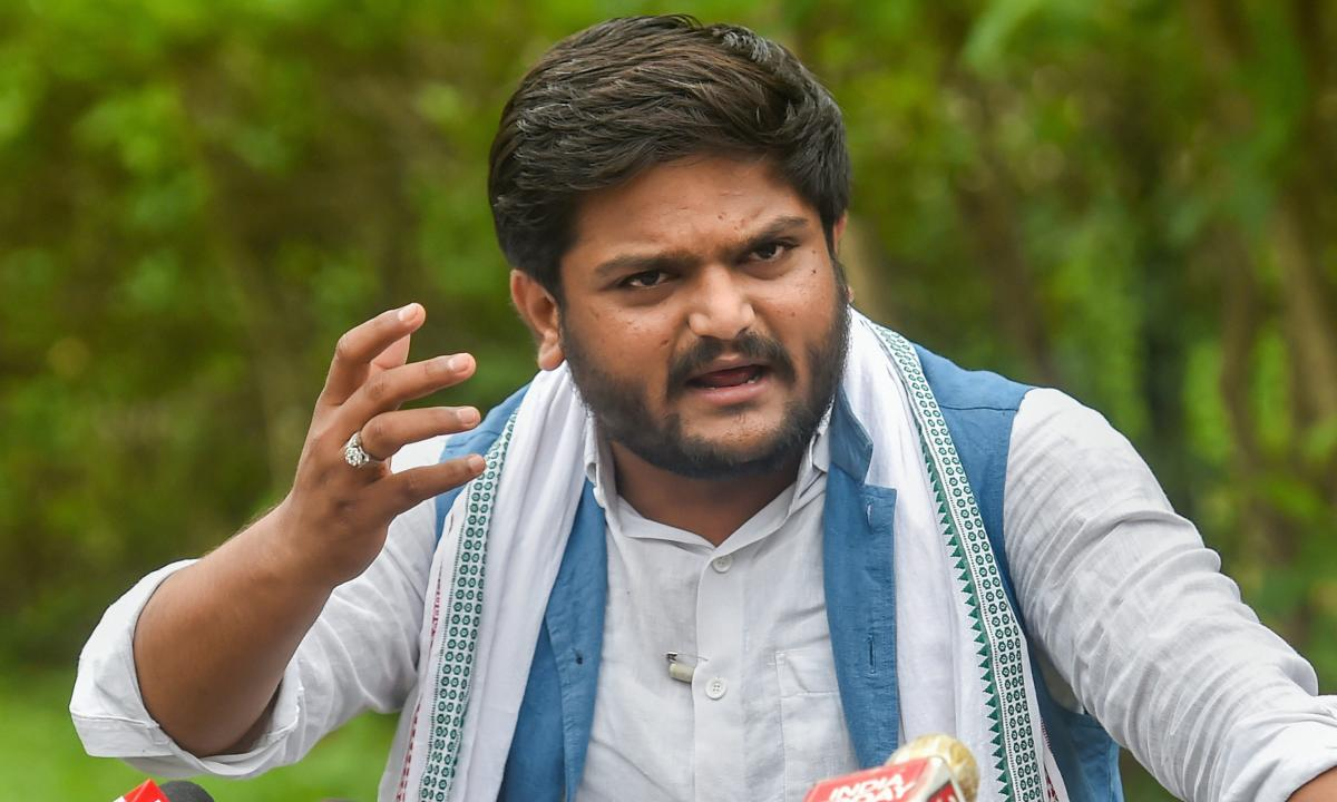 Patidar quota agitation leader Hardik Patel