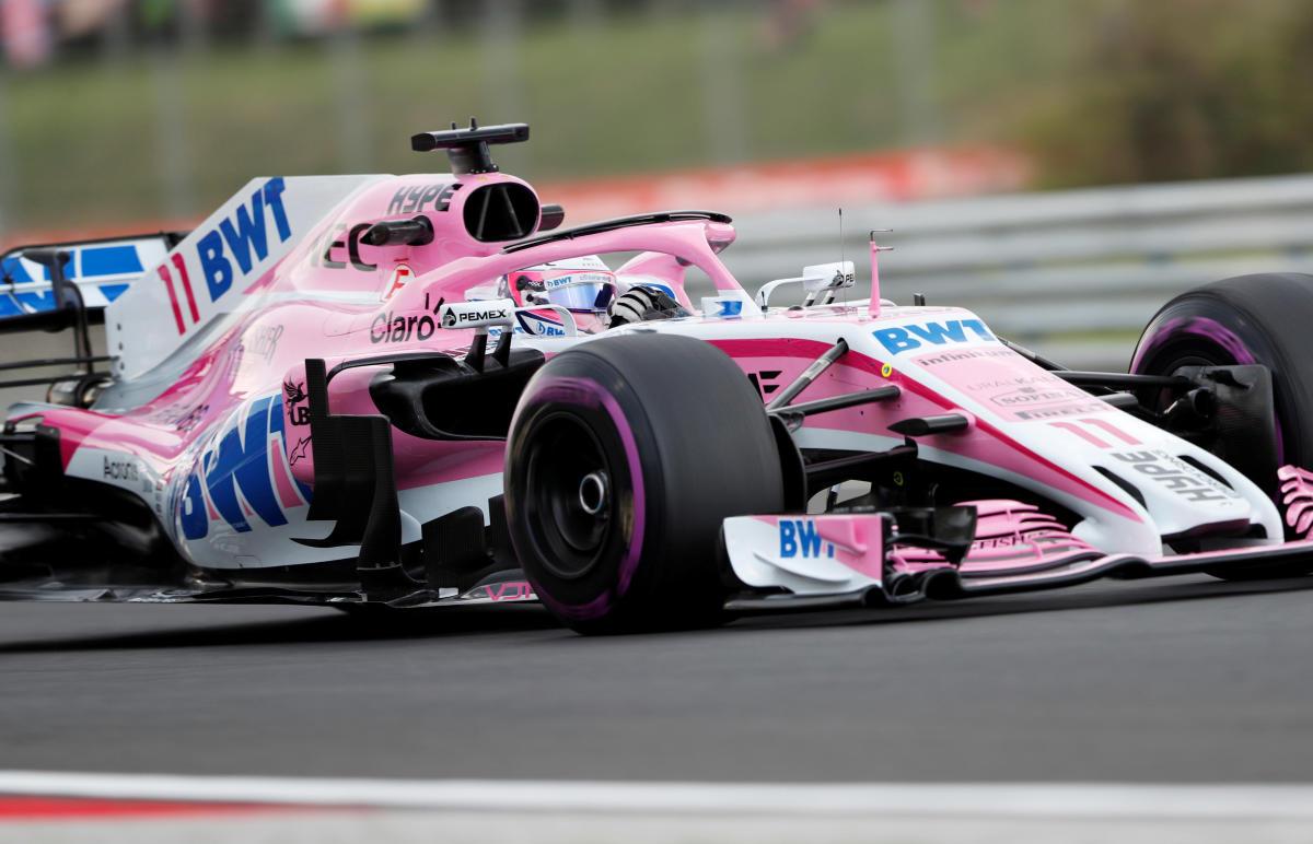 Force India's Sergio Perez during practice (REUTERS/Bernadett Szabo/File Photo)