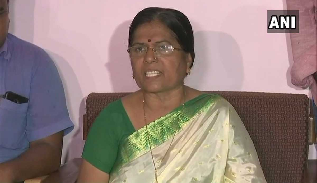 Bihar's Social Welfare Minister Manju Verma, on Wednesday, submitted her resignation to Chief Minister Nitish Kumar after the CBI investigating the Muzaffarpur shelter home rape case found that her husband was in regular touch with Brajesh Thakur, the main accused. ANI photo