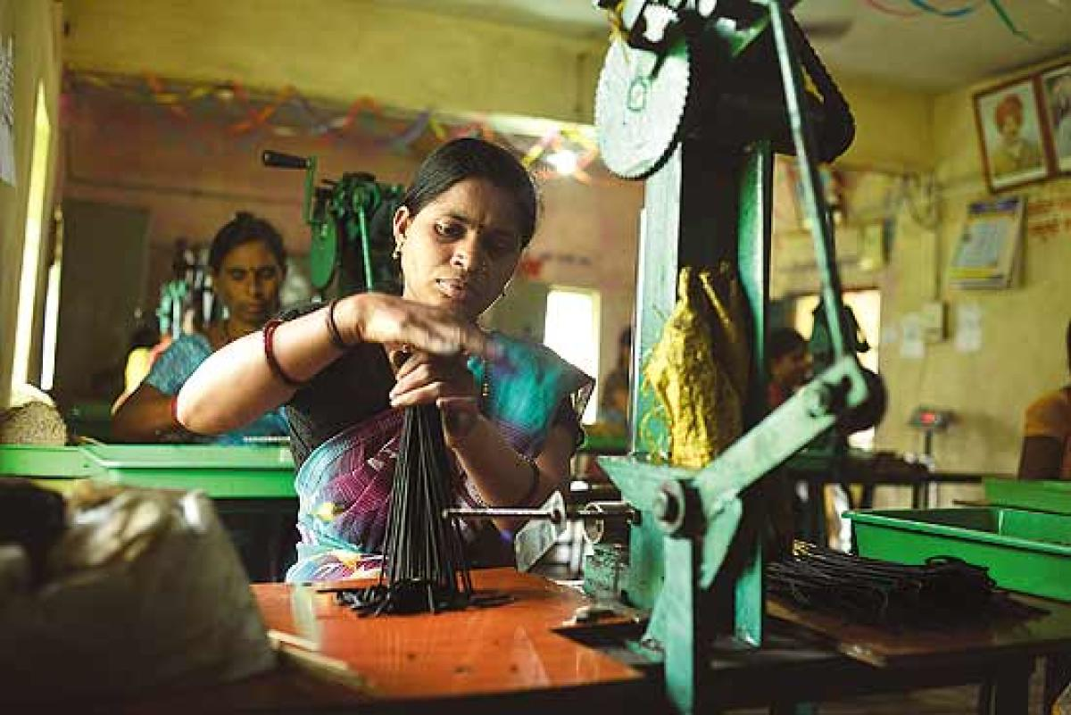 There are estimated to be some 42 million SMEs in India, accounting for 95% of the total industrial units, contributing 45% of the GDP.