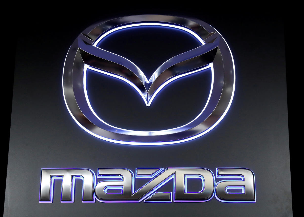 The logo of Mazda Motor Corp. (REUTERS File Photo)
