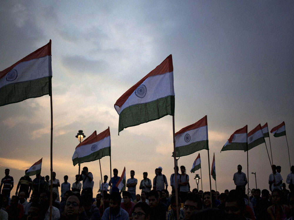 About 100 organisations are backing the initiative — 'Jana Mana Gana Gaana: National Anthem Awareness Campaign'. PTI file photo