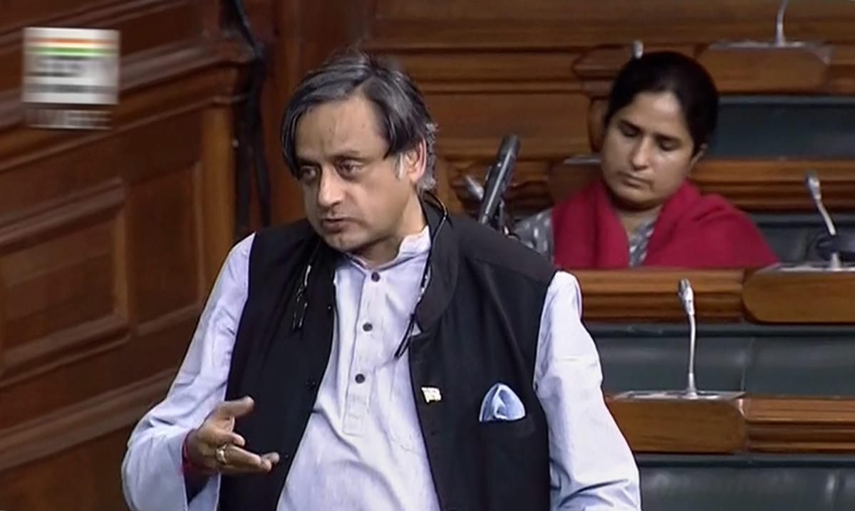 Shashi Tharoor. PTI file photo.