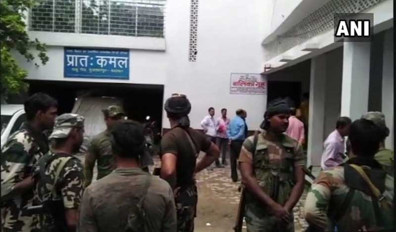 A CBI probe team on Saturday visited Brajesh Thakur's residence in Bihar from where he ran the shelter home, which is at the centre of a sex scandal, and conducted a thorough search with help from forensic experts, sifted through documents and interrogated people close to him. ANI photo