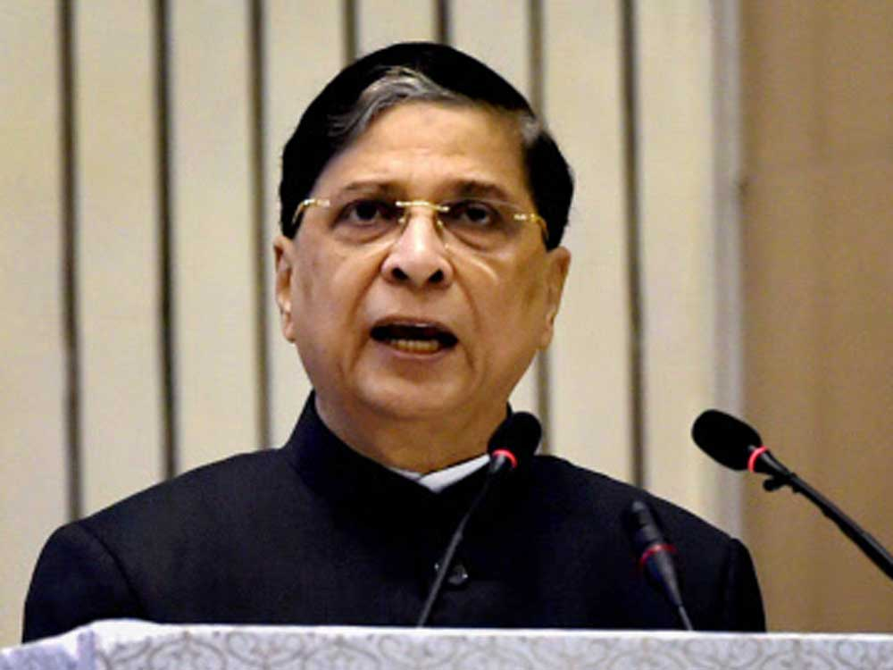 Chief Justice of India Justice Dipak Misra. (PTI File Photo)