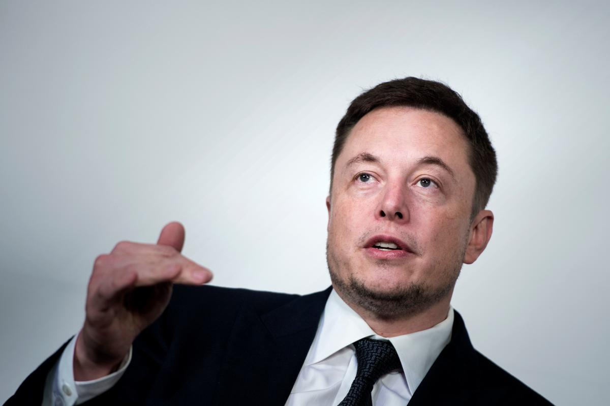 Elon Musk, CEO of SpaceX and Tesla, speaks during the International Space Station Research and Development Conference at the Omni Shoreham Hotel in Washington on July 19, 2017. AFP File