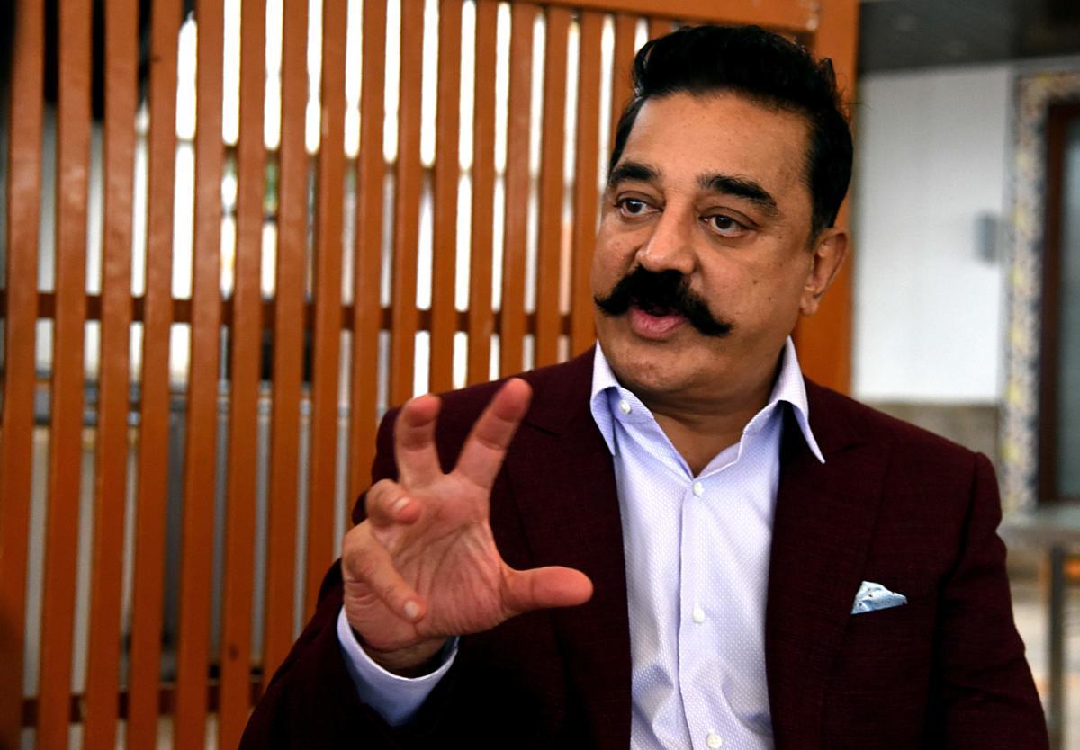 Kamal Haasan. AFP photo