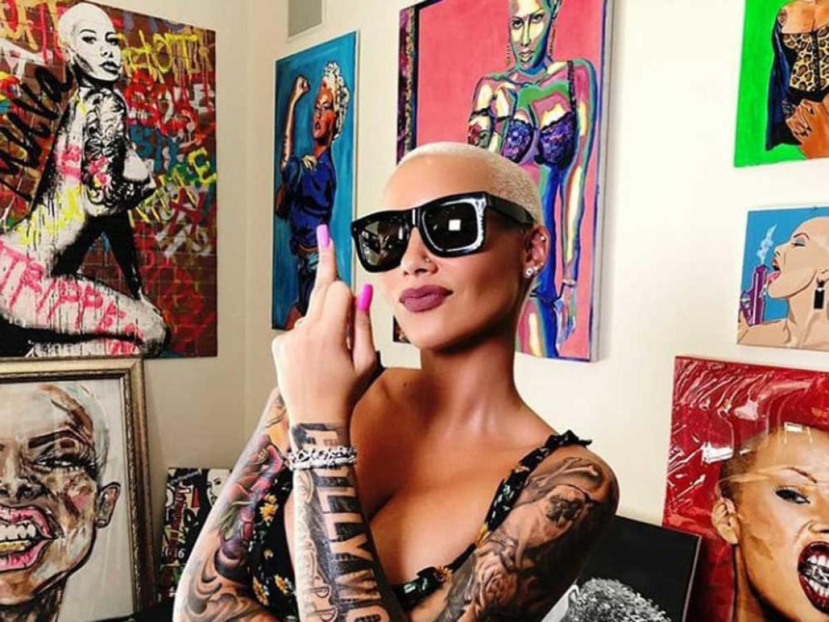 Amber Rose. Image courtesy Instagram