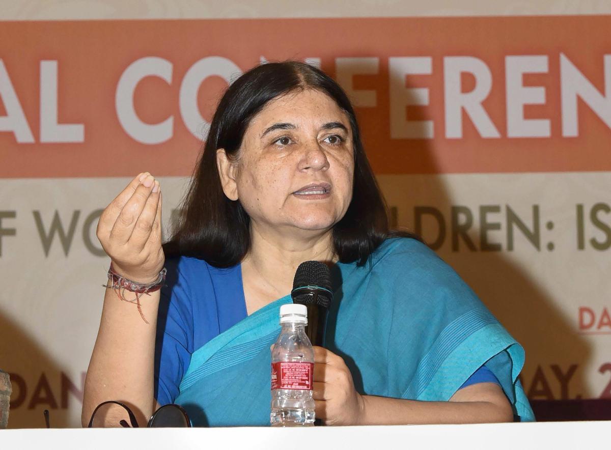 Union Minister for Women and Child Development Maneka Sanjay Gandhi. (PTI File Photo)