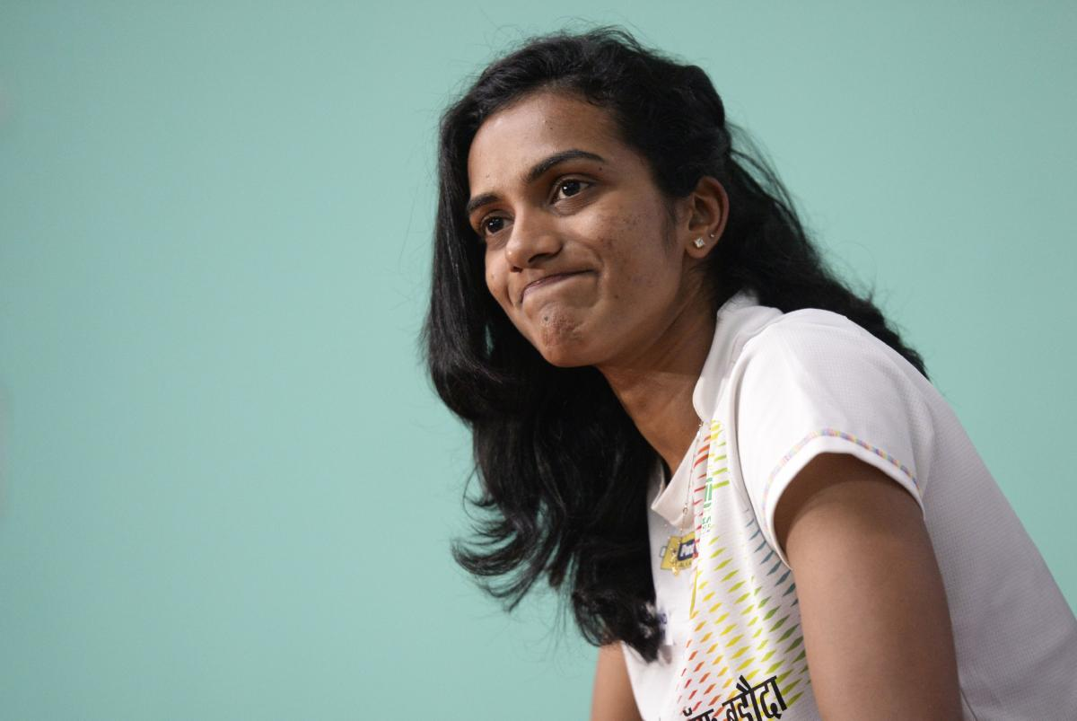 PV Sindhu is India's biggest hope of a gold medal in badminton at the Asian Games. AFP
