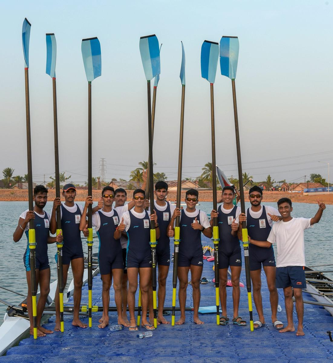 Indian rowers are expected to add significantly to India's medal haul in the Asian Games. PTI