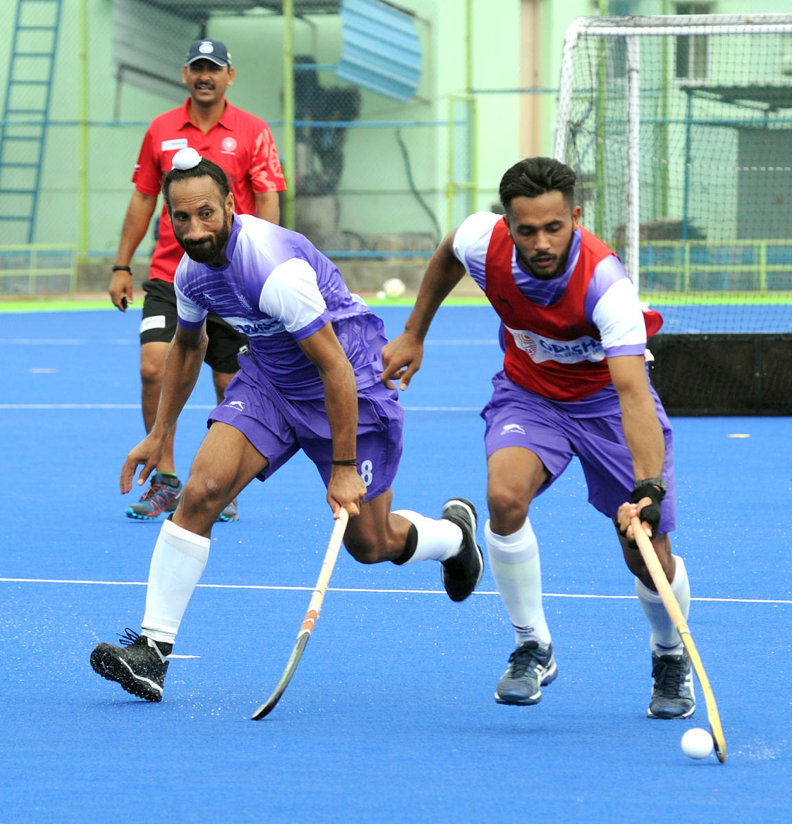 Indian men's hockey team will be eyeing a winning start against Indonesia. DH PHOTO FILE PHOTO